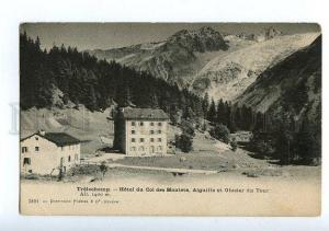 129599 France TRELECHAMP Hotel du Col des Montets Vintage PC