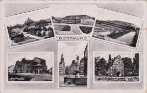 6-VIews of DORTMUND, North Rine-Westphalia, Germany, PU-1941