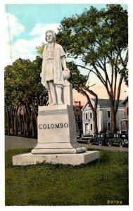 Connecticut  New London , Columbus Monument