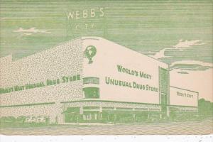 Florida St Petersburg Webb's City World's Most Unusual Drug Store