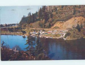 Pre-1980 TRAILER PARK Kernville - Near Bakersfield California CA c3358