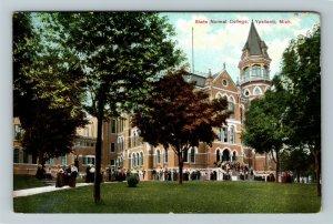 Ypsilanti MI-Michigan, State Normal College, Vintage c1910 Postcard