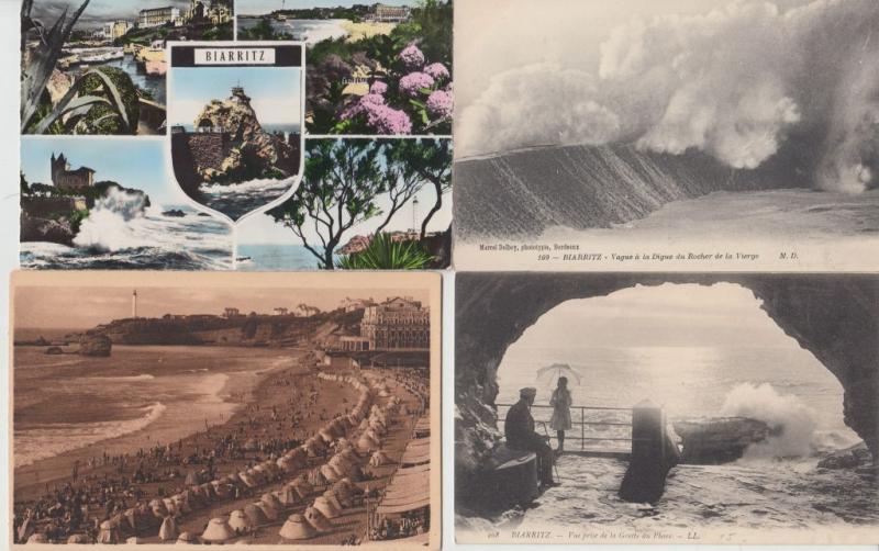 BIARRETZ PYRÉNÉES-ATLANTIQUES (DEP.64) 1500 Cartes Postales 1900-1940