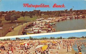 USA Marina and Beach Metropolitan Michigan Harbour Boats