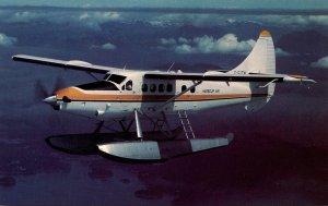 Harbour Air DeHavilland DHC-3 Otter Over Georgia Strait On British Columbia&#...