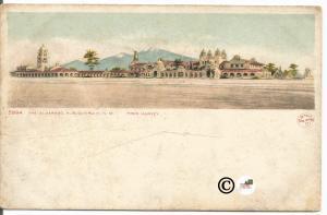 The Alvarado Albuquerque New Mexico Fred Harvey Detroit Publishing Co.