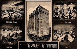 New York City Hotel Taft Lobby Coffee Shop Tap Room & Grill
