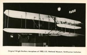 DC - Washington. Smithsonian Institution, Original Wright Brothers Aeroplane ...
