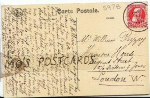 Genealogy Postcard - Pizzey - Hanover House - Regent Street - London - Ref 597B