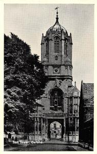 Oxford Tom Tower Gate, Clock Tour Turm