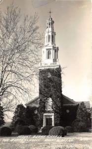 Mount Berry Georgia~Berry Schools-Mount Berry Chapel~Note on Back~1947 RPPC