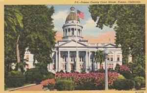 FRESNO, California, 1930-40s; Fresno County Court House