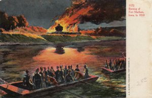 Burning of Fort Madison , Iowa in 1810 , 00-10s