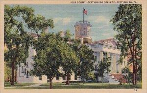 Pennsylvania Gettysburg Old Dorm Gettysburg College