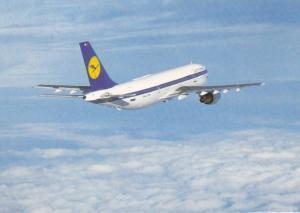 Lufthansa A 300 airplane , 80-90s