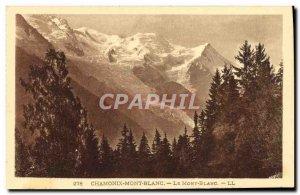 Old Postcard Chamonix Mont Blanc