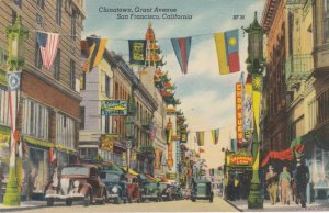 SAN FRANCISCO, California; 30-40s; Chinatown , Grant Avenue