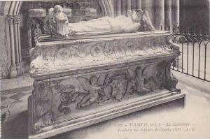 France Tours La Cathedrale Tombeau des Enfants de Charles VIII