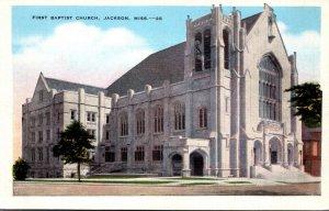 Mississippi Jackson First Baptist Church 1943