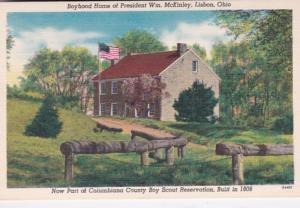 Ohio Lisbon Boyhood Home Of President William McKinley