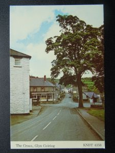 Wales GLYN CEIRIOG from THE CROSS c1970's Postcard KNBT 4358
