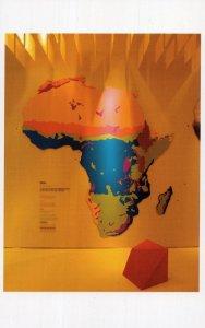 Urban Africa David Adjaye African Map Museum London Exhibition Postcard