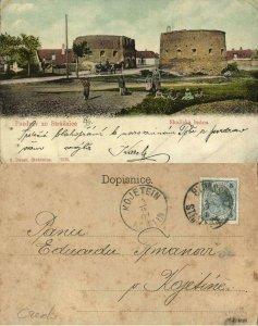 czech, STRÁŽNICE STRAßNITZ, Skalická Brána (1901) Postcard