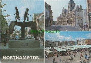 Northamptonshire Postcard - Views of Northampton    RR11400