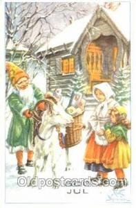 Curt Nystrom, Gnomes, Elves, Postcard Post Card