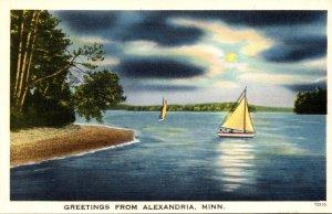 Minnesota Greetings From Alexandria