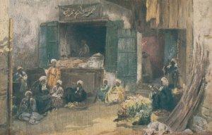 ASSUAN , Egypt , 00-10s ; Kitchen in the Bazar