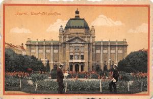 B0822 Croatia Zagreb Umjetnicki paviljon not used 1919  front/back scan