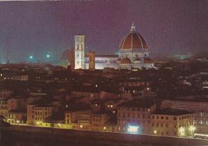Italy Firenze Panorama Notturno