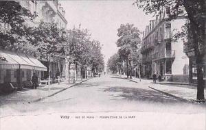 France Vichy Rue de Paris Perspective de la Gare