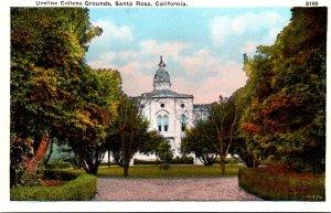 California Santa Rosa Ursline College Grounds