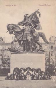 Germany Frankfurt am Main Bismarck Denkmal
