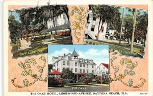 The Oaks Hotel, Ridgewood Avenue Daytona Beach, Florida