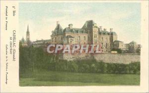 Postcard Old Cadillac (Gironde) Le Chateau