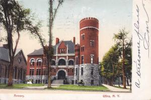The Armory at Utica NY, New York - pm 1907 - UDB