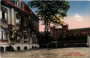 CPA HADERSLEBEN Lazarett und Kaserne DENMARK (565547)