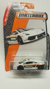 Matchbox Toy Car #61 Lamborghini Gallardo LP560-4 Polizia