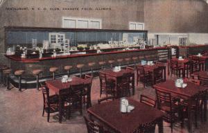 CHANUTE FIELD, Illinois ,1930-40s ; Restaurant, N.C.O. Club