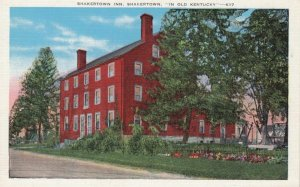 SHAKERTOWN, Kentucky, 1930-40s; Shakertown Inn, In Old Kentucky