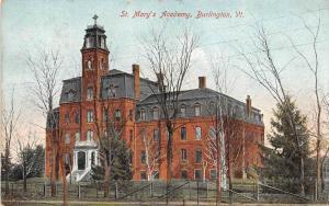 19571 VT  Burlington, St. Mary's Academy
