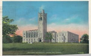 LONDON, Ontario , 1938 ; Western University