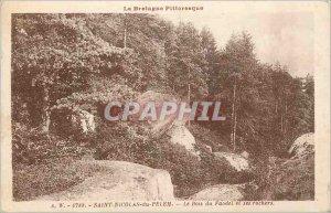 Postcard Old Saint Nicolas du Pelen Brittany Picturesque its Boiset The Rocks