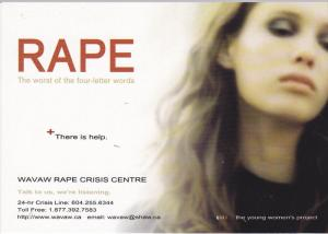 RAPE , The worse of the four letter words, 2002
