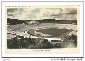 Hand Tinted RP: Futbol Stadium, Estadio Nacional, Lisboa, Portugal, 20-30s