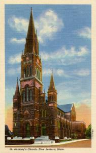 MA - New Bedford. St Anthony's Church