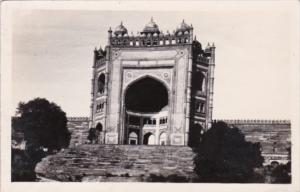 India Agra Buland Gate Fatehpur Sikri Real Photo